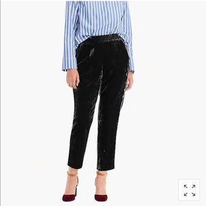 Jcrew velvet pants